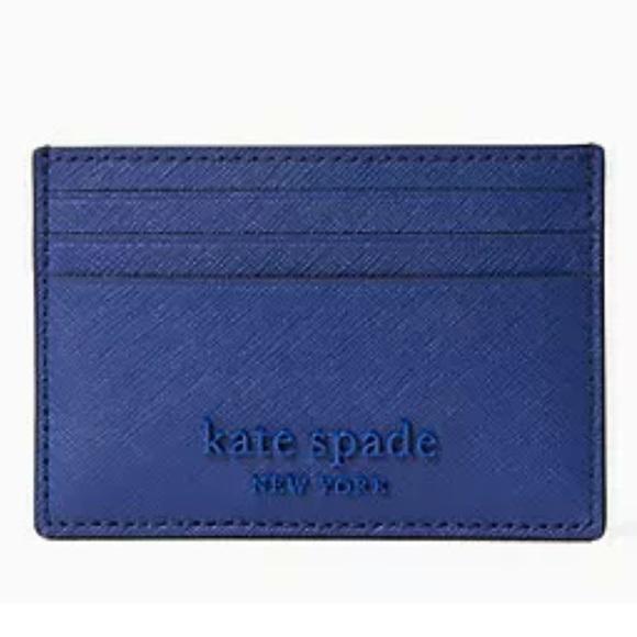 NWT Kate Spade Cameron Monotone Small Card Holder